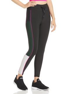 AQUA Athletic Piped Color-Block Leggings - 100% Exclusive