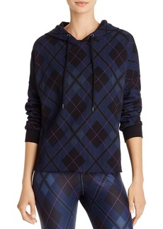 AQUA Athletic Plaid Hooded Sweatshirt - 100% Exclusive