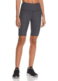 AQUA Athletic Polka Dot Bike Shorts - 100% Exclusive