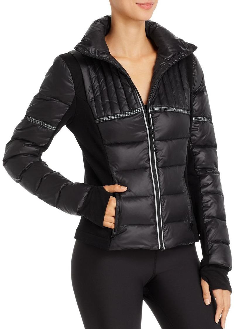 AQUA Athletic Reflective-Inset Puffer Jacket - 100% Exclusive