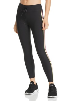 AQUA Athletic Track Stripe Leggings - 100% Exclusive