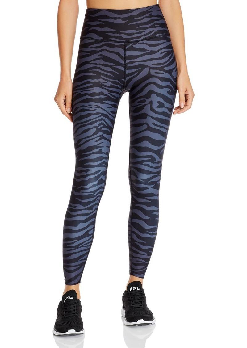 AQUA Athletic Zebra Print Leggings - 100% Exclusive