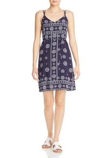 AQUA Bandana Print Strappy Shift Dress - 100% Exclusive