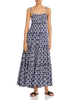 AQUA Batik Tiered Maxi Dress - 100% Exclusive