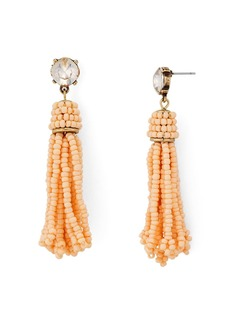 AQUA Beaded Fringe Drop Earrings - 100% Exclusive