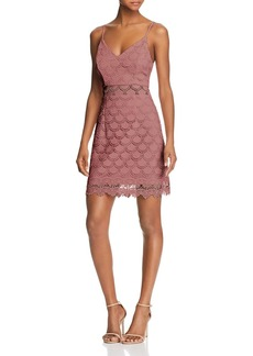 AQUA Body-Con Lace Dress - 100% Exclusive