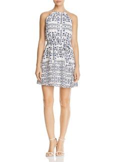 AQUA Boho High Neck Dress - 100% Exclusive