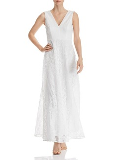 AQUA Botanical Lace Maxi Dress - 100% Exclusive