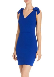 AQUA Bow-Accented Bodycon Dress - 100% Exclusive