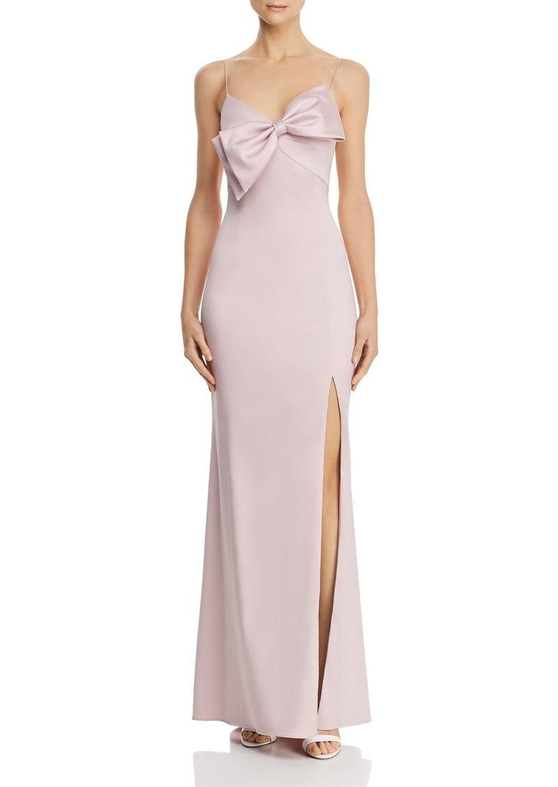 AQUA Bow-Detail Gown - 100% Exclusive