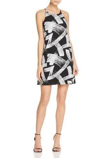AQUA Brushstroke Textured Shift Dress - 100% Exclusive