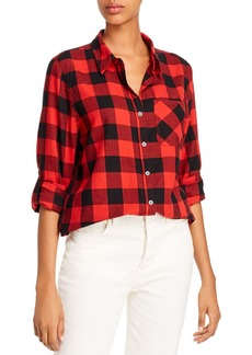 AQUA Buffalo Plaid Shirt - 100% Exclusive