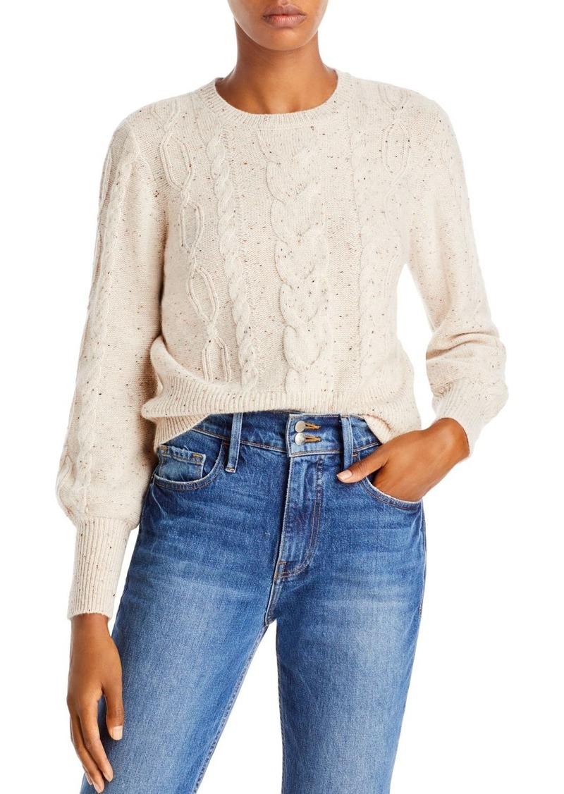 AQUA Cable Cashmere Sweater - 100% Exclusive