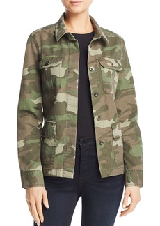 AQUA Camo Army Jacket - 100% Exclusive