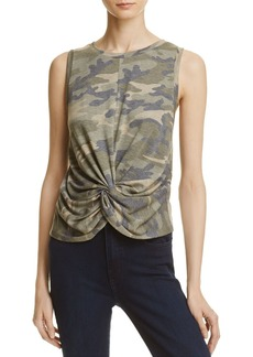 AQUA Camouflage Twist-Front Tank - 100% Exclusive