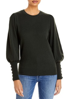 AQUA Cashmere Balloon Sleeve Sweater - 100% Exclusive