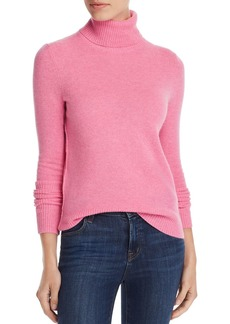 AQUA Cashmere Cashmere Turtleneck Sweater - 100% Exclusive