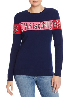 AQUA Cashmere Chamonix Snowflake Cashmere Sweater - 100% Exclusive