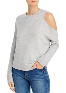 AQUA Cashmere Cutout Cashmere Sweater - 100% Exclusive