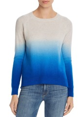 AQUA Cashmere Dip-Dye Cashmere Sweater - 100% Exclusive