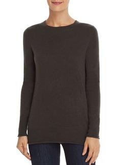 AQUA Cashmere Crewneck Cashmere Sweater - 100% Exclusive