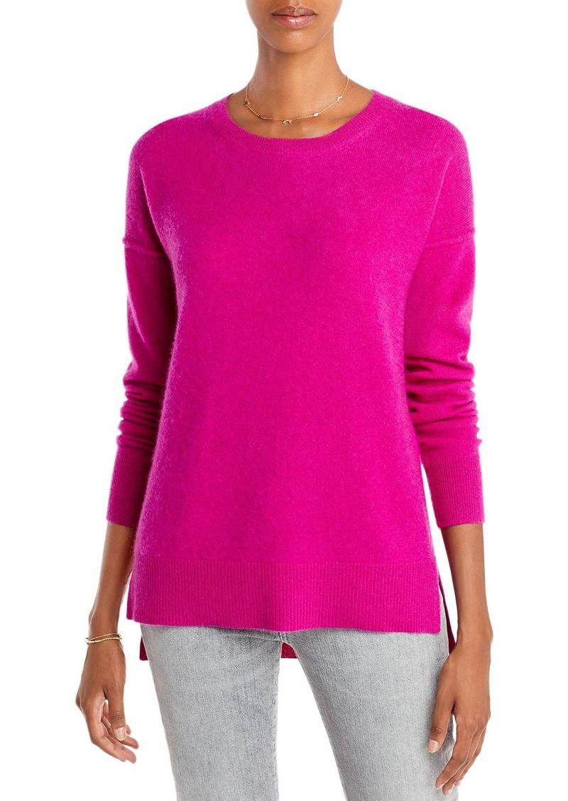 AQUA Cashmere High Low Cashmere Sweater - 100% Exclusive