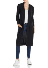 AQUA Cashmere Long Open Cashmere Cardigan - 100% Exclusive