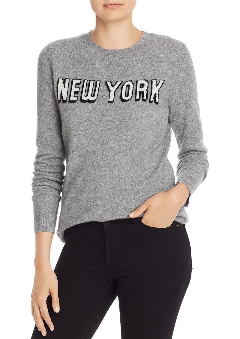AQUA Cashmere New York Cashmere Sweater - 100% Exclusive
