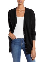 AQUA Cashmere Oversized Cashmere Cardigan - 100% Exclusive