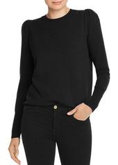 AQUA Cashmere Puff-Sleeve Cashmere Sweater - 100% Exclusive