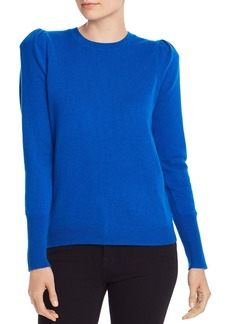 AQUA Cashmere Puff-Sleeve Cashmere Sweater - 100% Exclusive