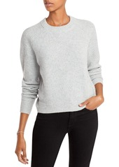 AQUA Cashmere Ribbed Cashmere Sweater - 100% Exclusive
