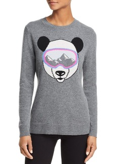 AQUA Cashmere Ski Goggle Panda Cashmere Sweater - 100% Exclusive