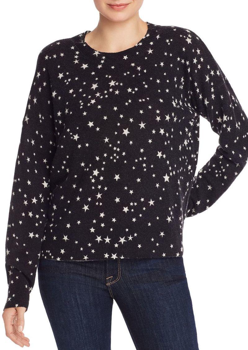 AQUA Cashmere Star Cashmere Sweater - 100% Exclusive