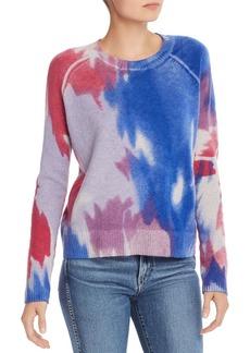 AQUA Cashmere Tie-Dye Cashmere Sweater - 100% Exclusive