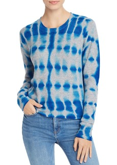 AQUA Cashmere Tie-Dye Cashmere Sweater - 100% Exclusive