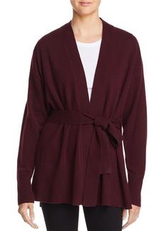 AQUA Cashmere Tie-Waist Cashmere Robe Cardigan - 100% Exclusive