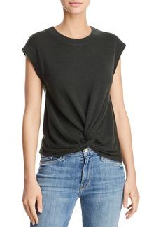 AQUA Cashmere Twist-Front Cashmere Sweater - 100% Exclusive