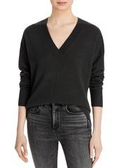 AQUA Cashmere V Neck Sweater - 100% Exclusive