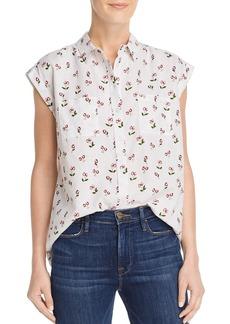 AQUA Cherry Print Shirt - 100% Exclusive