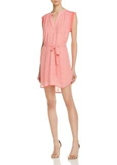 AQUA Chevron Tie Waist Dress - 100% Exclusive