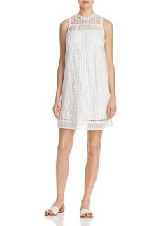 AQUA Circle Lace A-Line Dress - 100% Exclusive