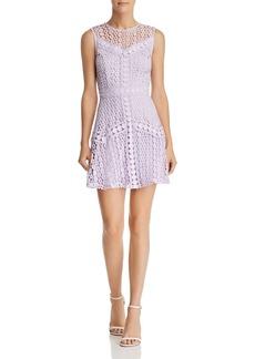 AQUA Circle Lace Dress - 100% Exclusive