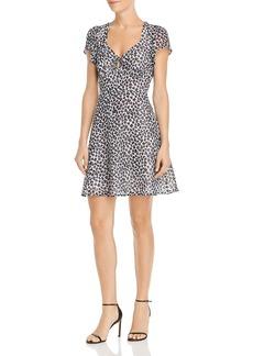 AQUA Clip Dot Leopard Print Dress - 100% Exclusive