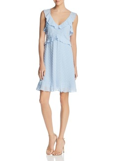 AQUA Clip Dot Ruffled Dress - 100% Exclusive