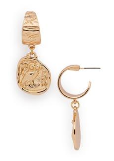 AQUA Coin Drop Earrings - 100% Exclusive