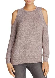 AQUA Cold-Shoulder Sweater - 100% Exclusive
