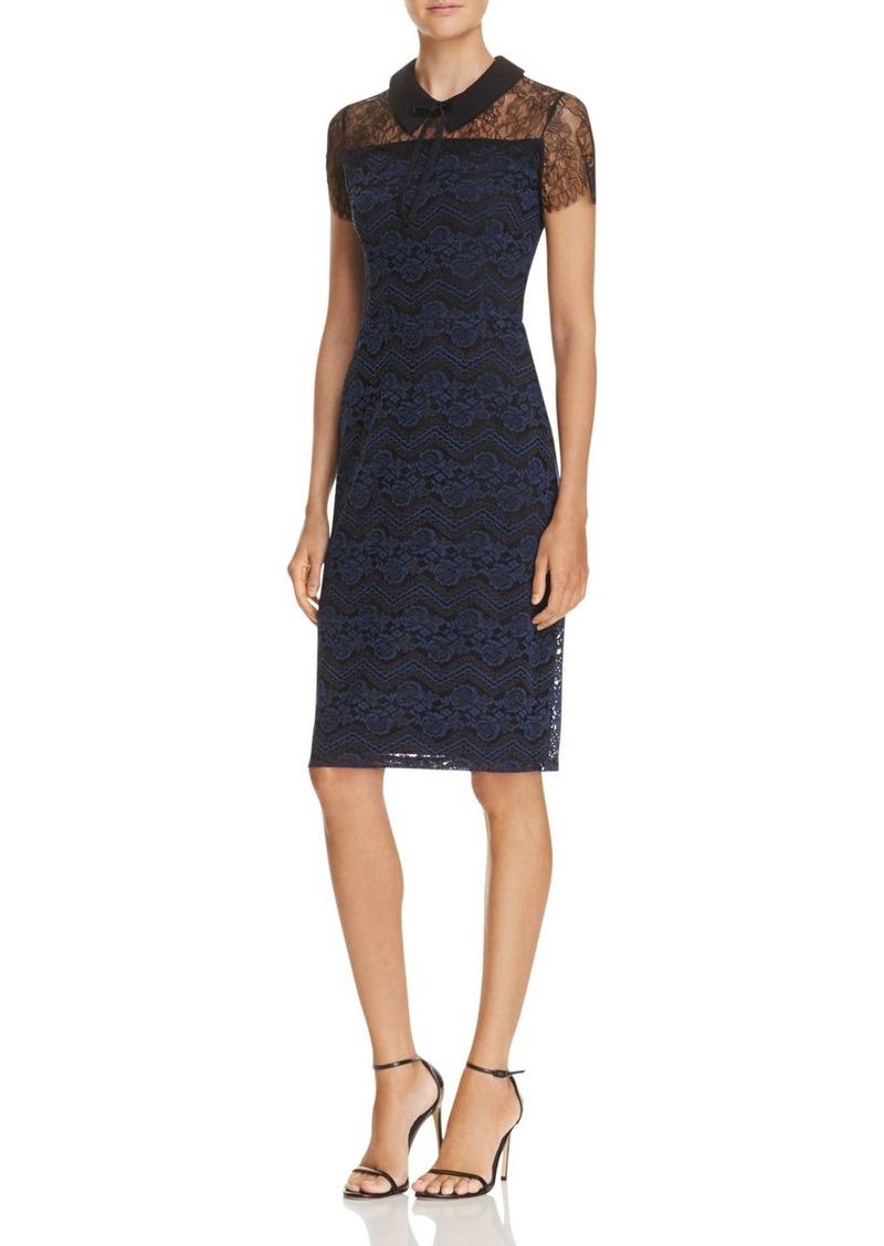 36238152cf Aqua AQUA Collar Zigzag Lace Dress - 100% Exclusive