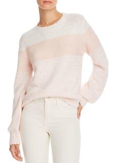 AQUA Color-Block Crewneck Sweater - 100% Exclusive