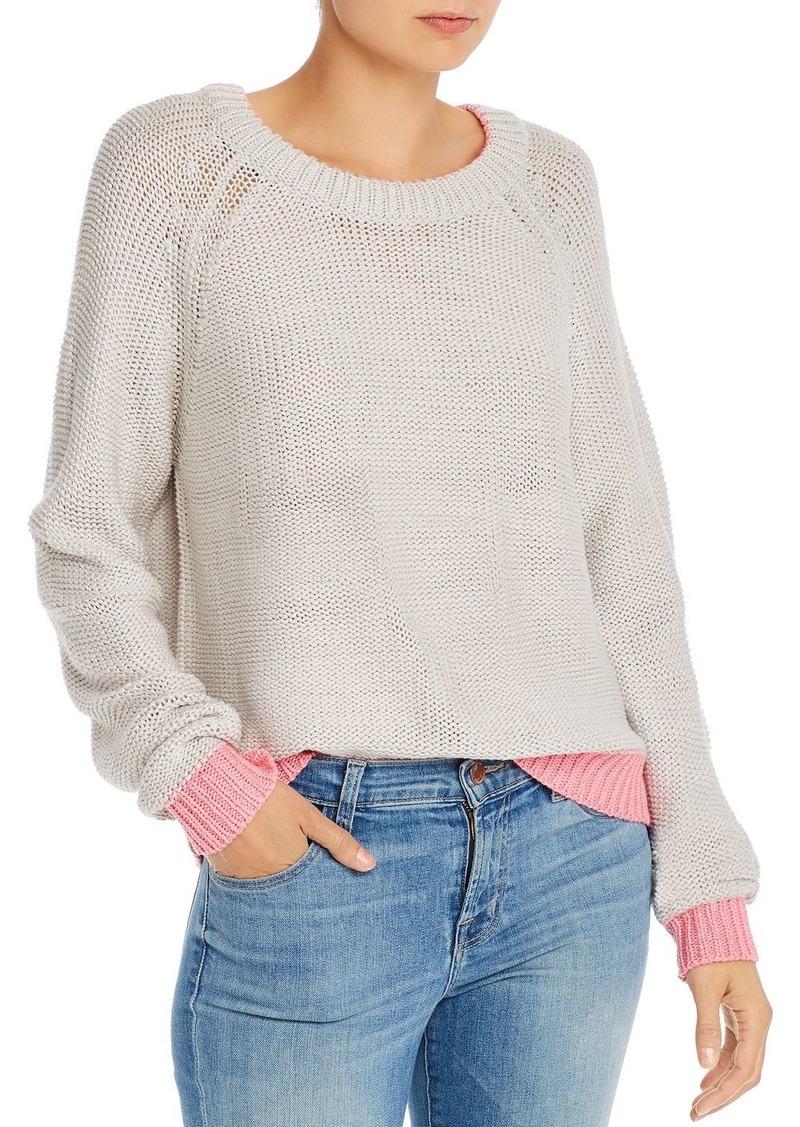 AQUA Color-Block-Trim Sweater - 100% Exclusive